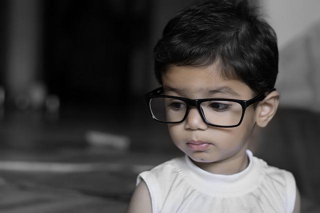 子どものメガネ